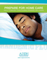 Prepare for Home Care - Adult (brochure)